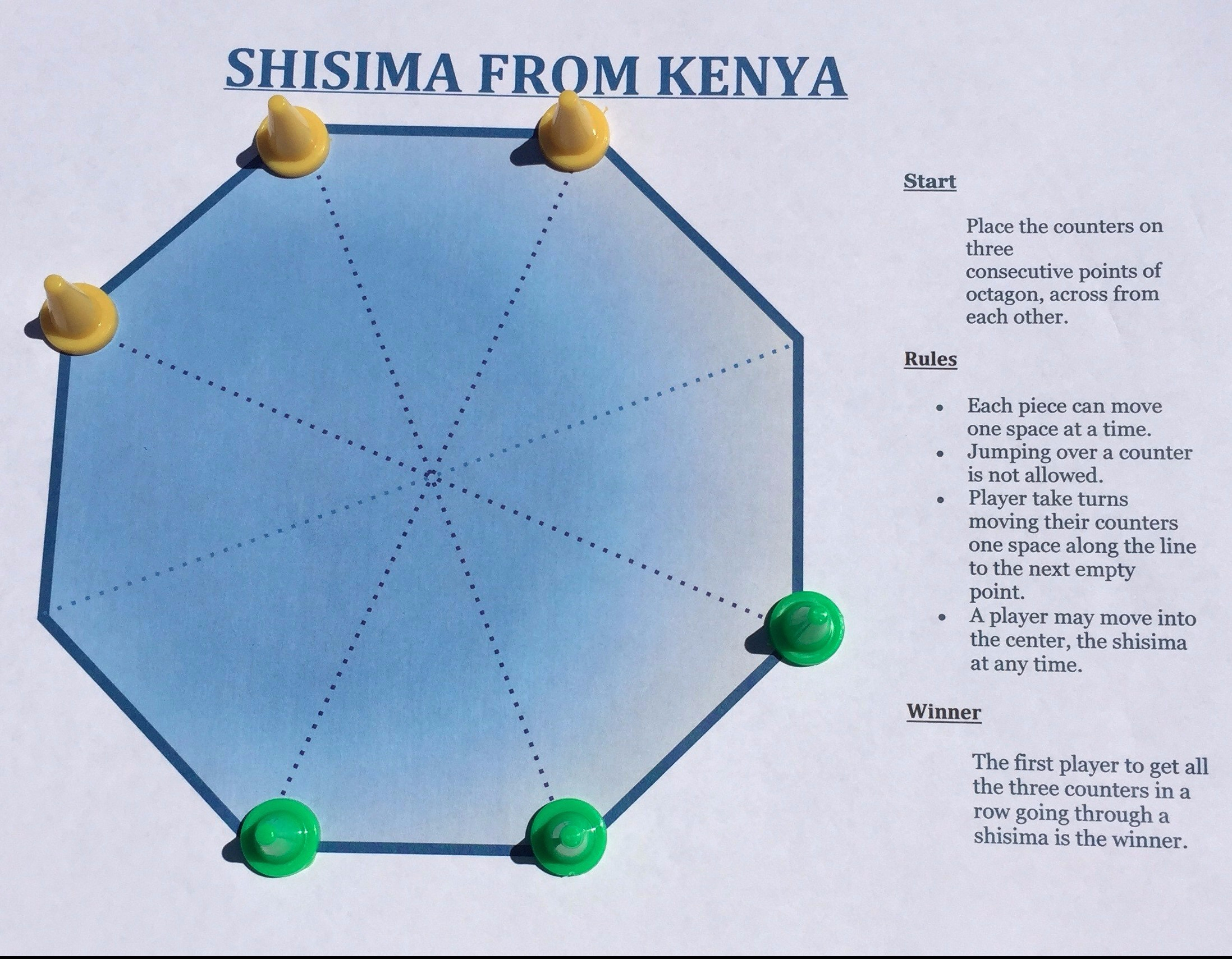 Shisima – A Math Game from Kenya
