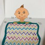 the Z fold - peek a boo paper toy
