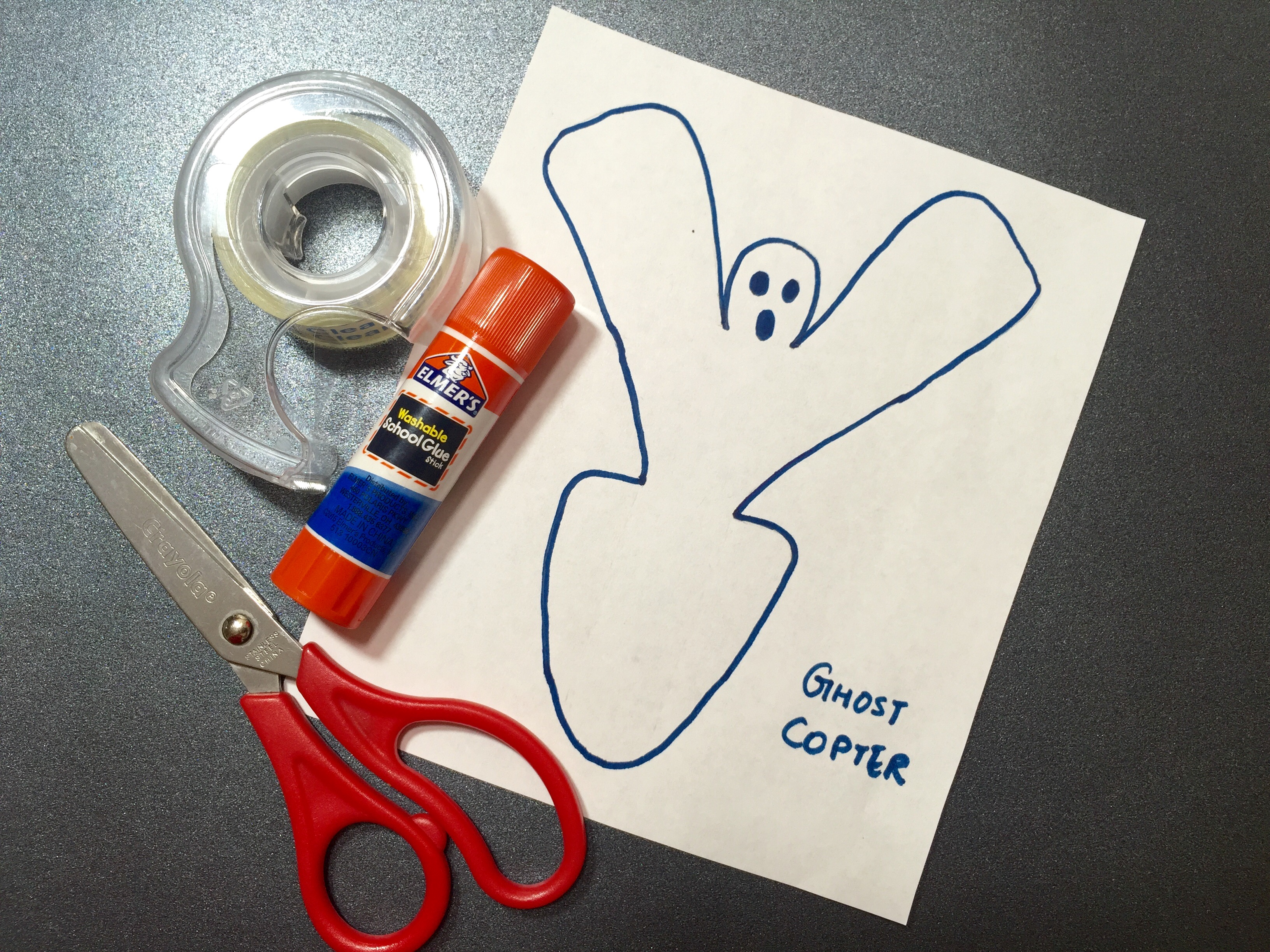 Spinning Ghost copter