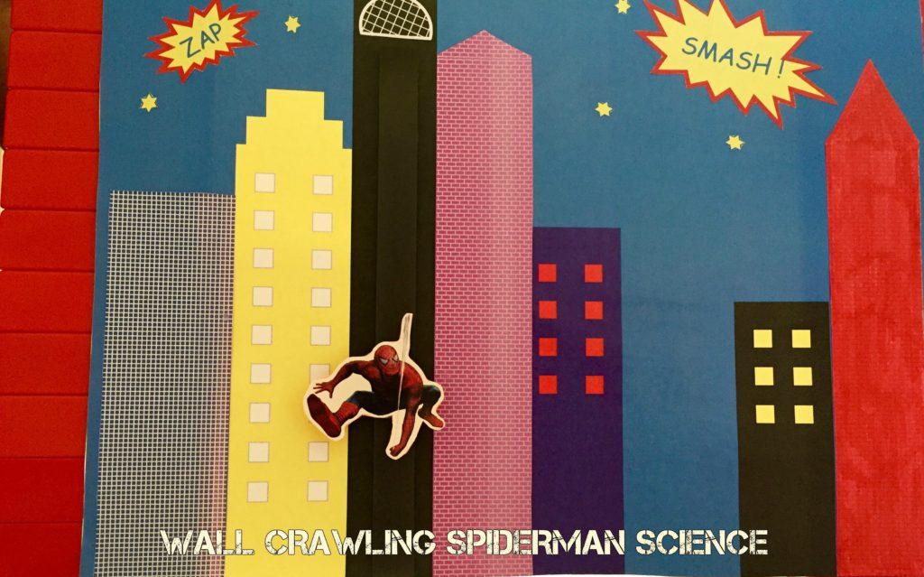 Wall Crawling Spiderman