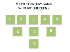 Who got fifteen - math strategy game