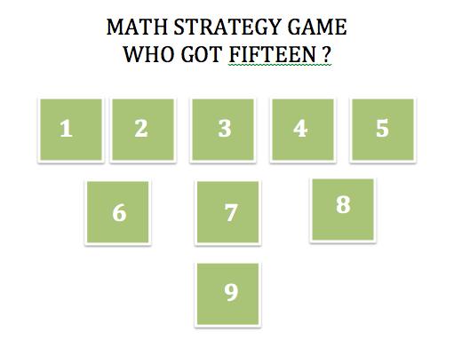 Who got Fifteen – A Math Addition Game