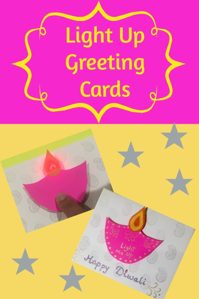 Light Up Diwali Greeting Card