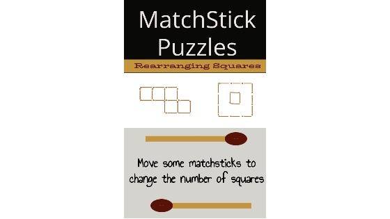Matchstick Puzzles – Rearranging Squares
