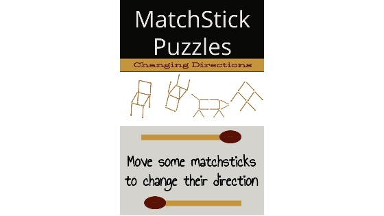 Matchstick Puzzle Changing direction of objects