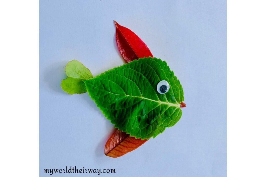 Fish Leaf Art
