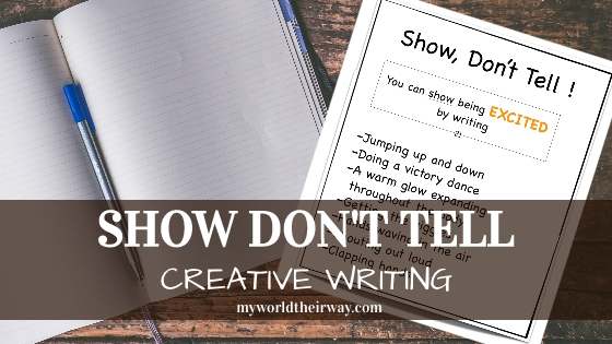 Show Don't Tell – Creative Writing