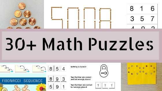 30+ Math BrainTeasers