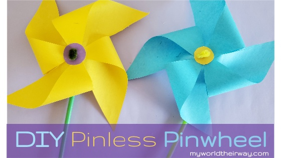 How to make a Pinwheel without pins