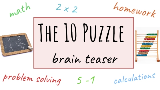 The 10 puzzle Brainteaser