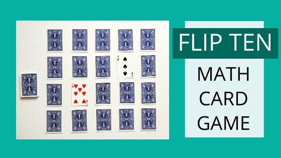 Flip Ten – Addition Card Game