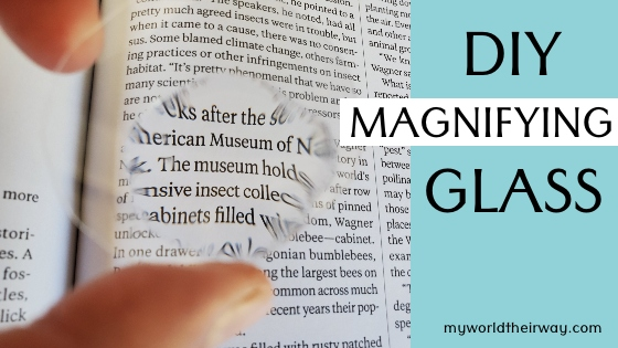Magnifying Blog Title