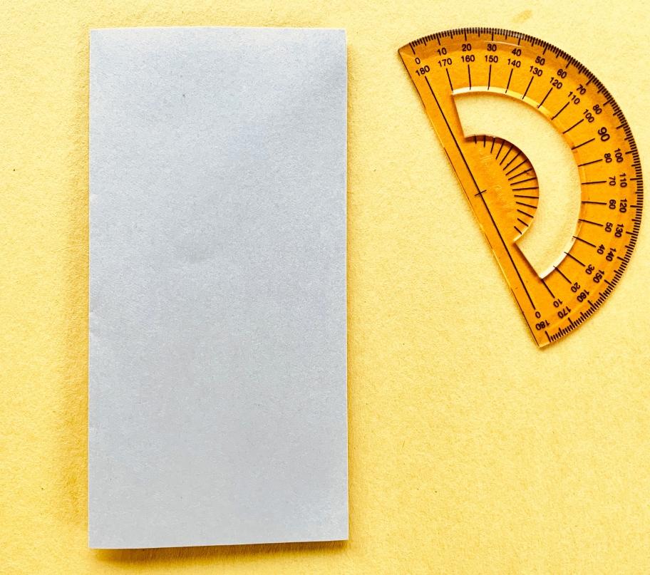 fold the paper in half