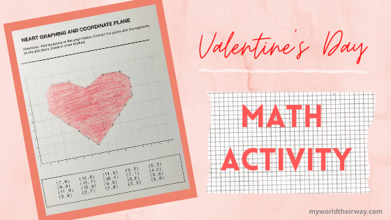 Heart Coordinate Graphing Activity