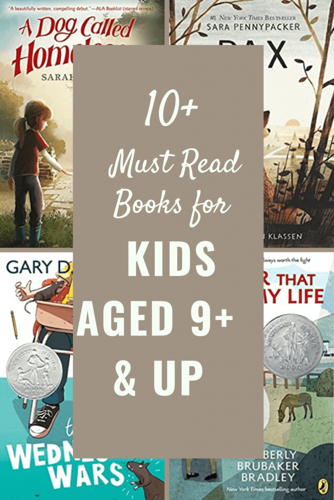 Books for 9 year old kids