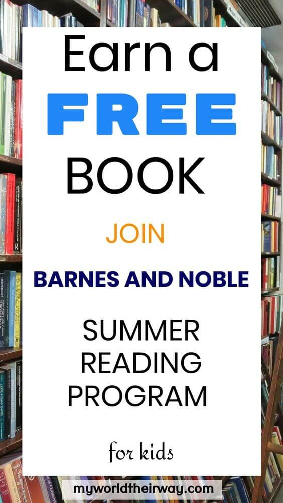 Summer Reading Program by Barnes and Noble